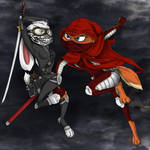 The Undying Scarlet VS Ronin