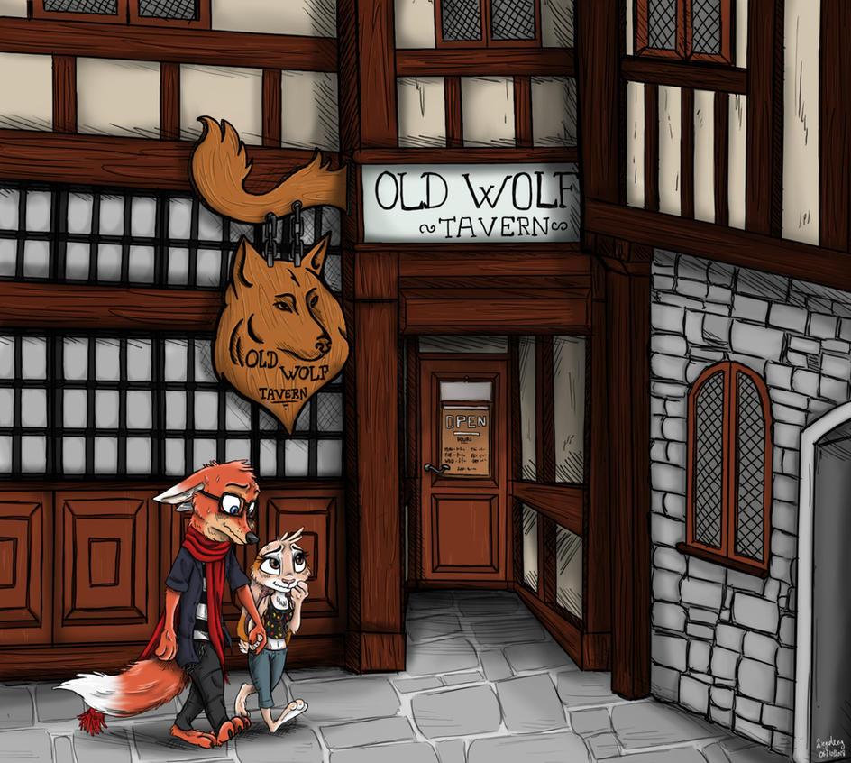 Old Wolf Tavern - Exterior by Ziegelzeig