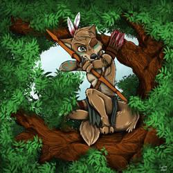 Primal Fox by Ziegelzeig