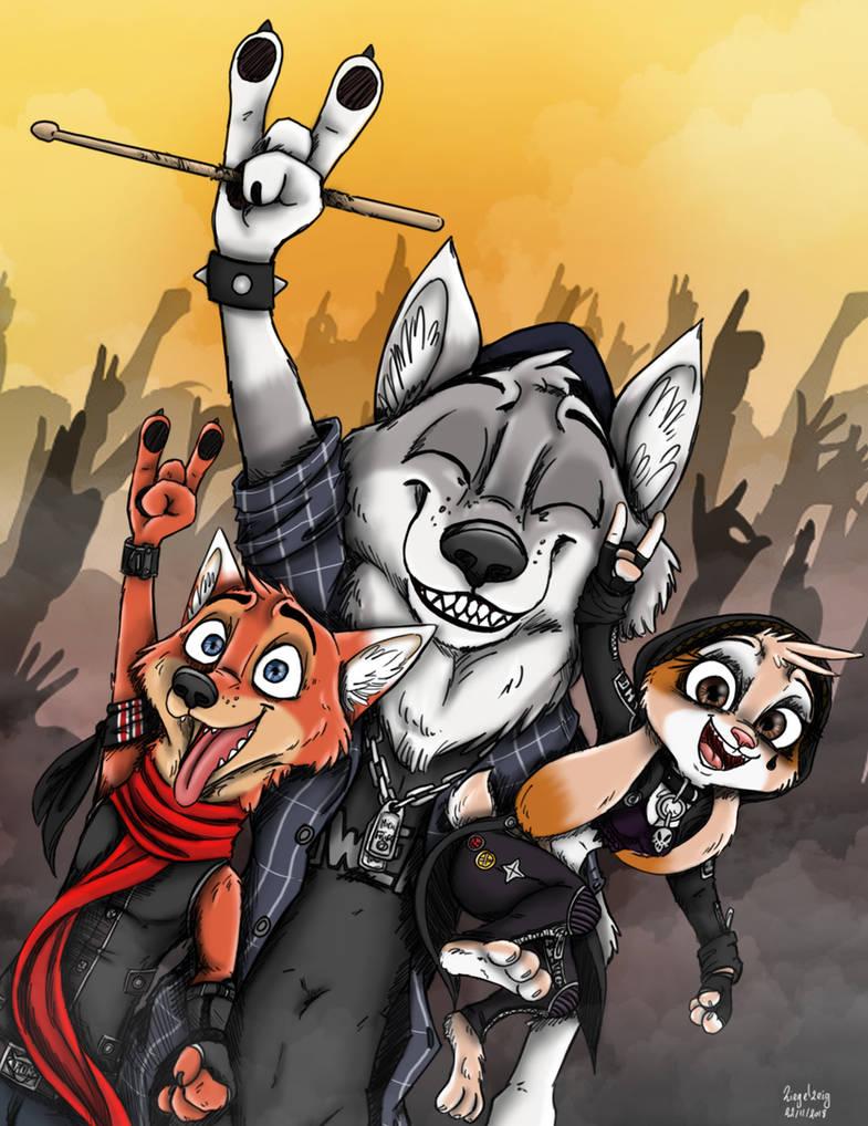 Woof got the stick ?! by Ziegelzeig