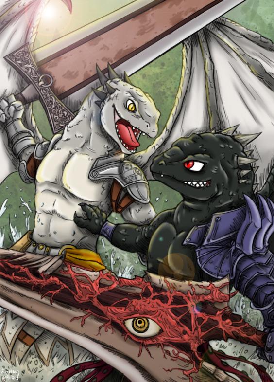 Dragon Calibur by Ziegelzeig on DeviantArt