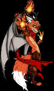 Ziegelzeig the Demon Fox