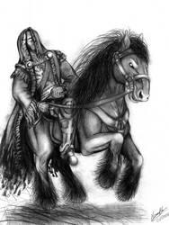 Warrior Horse by alessandrolima