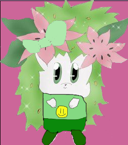 Shaymin Goes Green...er by Artrookie--yup