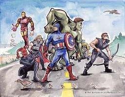 Avengers Fan Art!