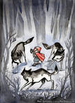 Little Red Wolf Hunter