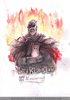 Lord Bloodclaw and his Manservant