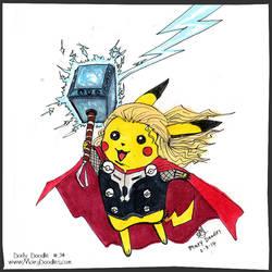 Pikachu, God of Thunder!