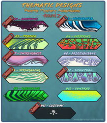 Palette Mystery Designs Round 2 - [4 Open!]