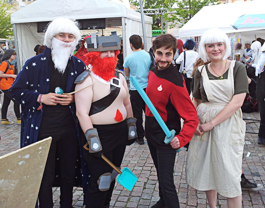 The Yogscast Cosplay Group by