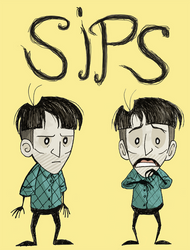Sips - Don't Starve style
