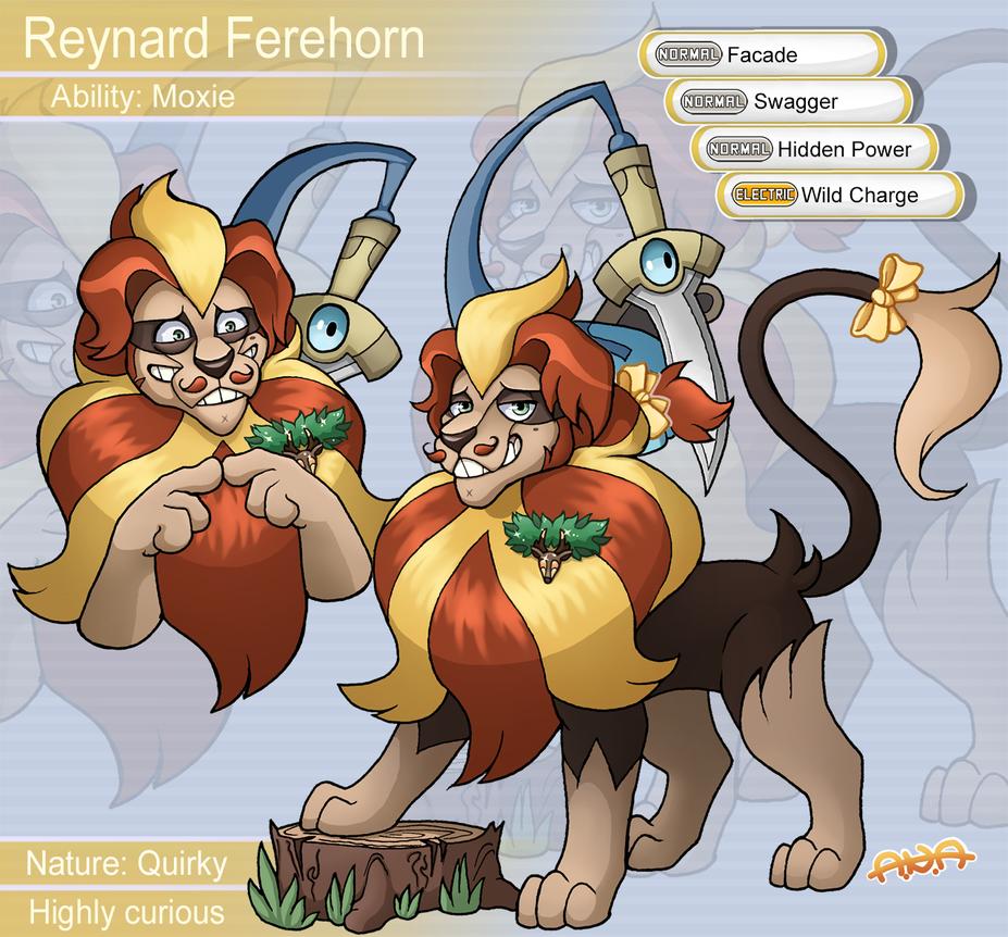 Reynard Pyroar by RatherPeculiar