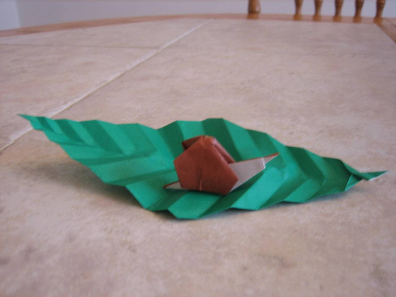 Origami Snail - Paper Snail (Easy) - YouTube | 960x1280