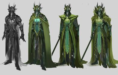 Elf Concept Character