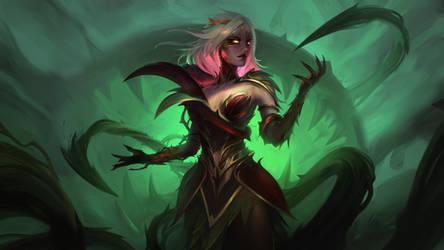 Dark Queen Nature