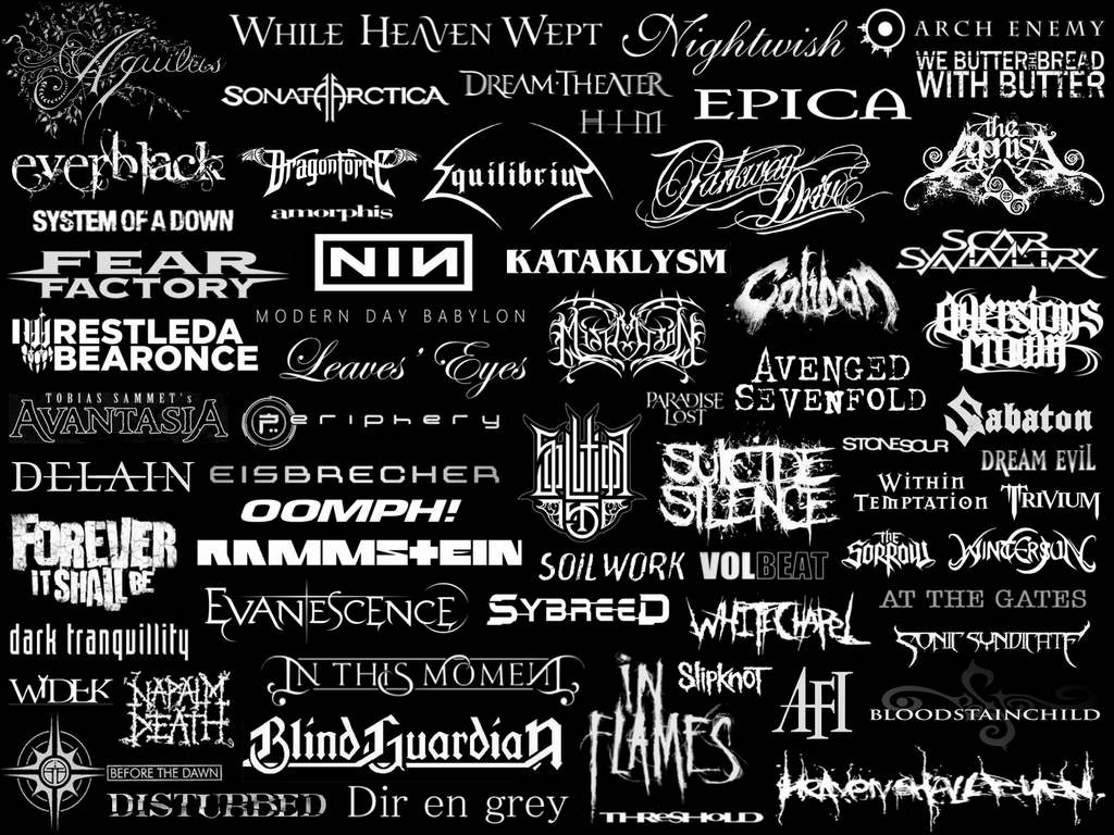 My Favourite Metal Bands By Eisatoova