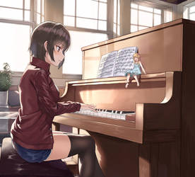 Piano practice by finleytennfjord