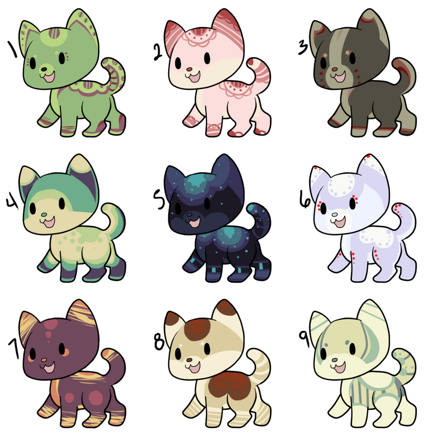 (CLOSED) Animal Adoptables: Kittens by NeoAbyss-Adopts on ...