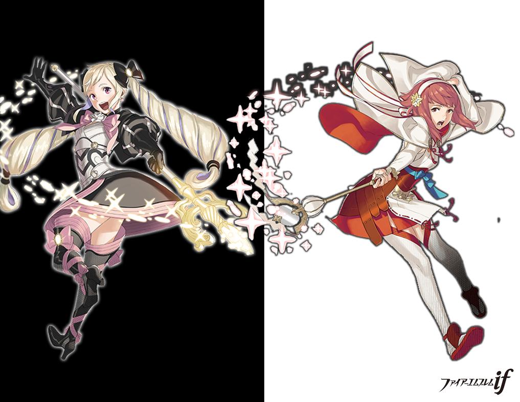 Sakura and Elise by ZombieAlpacalypse on DeviantArt