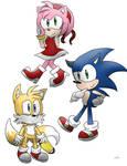 Random Sonic doodles