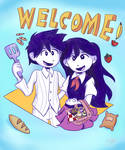 Cookin Couple by sofibeth