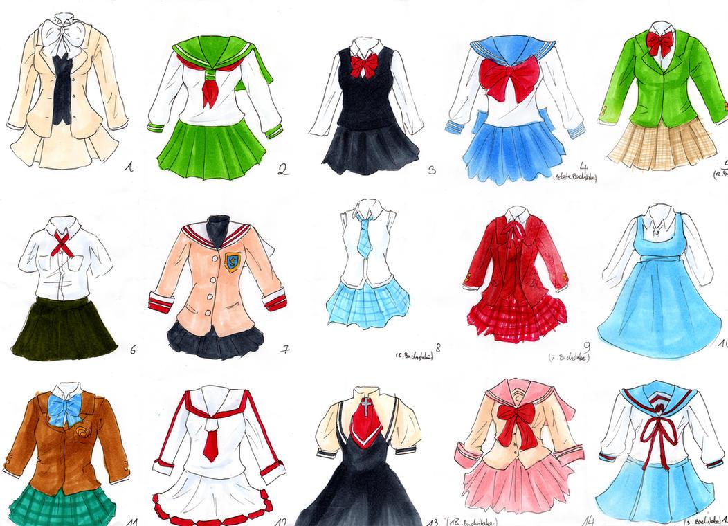 School-uniform quiz by LittleSara