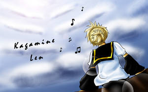 Kagamine Len by LittleSara