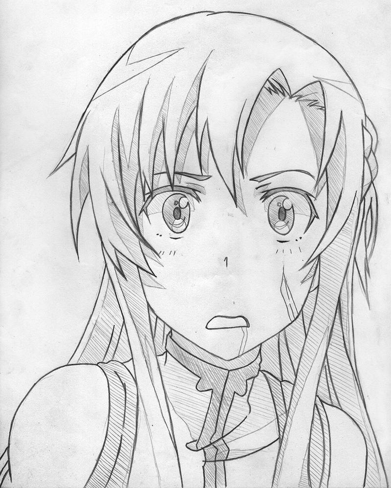 Sword Art Online Asuna Drawing Traffic Club
