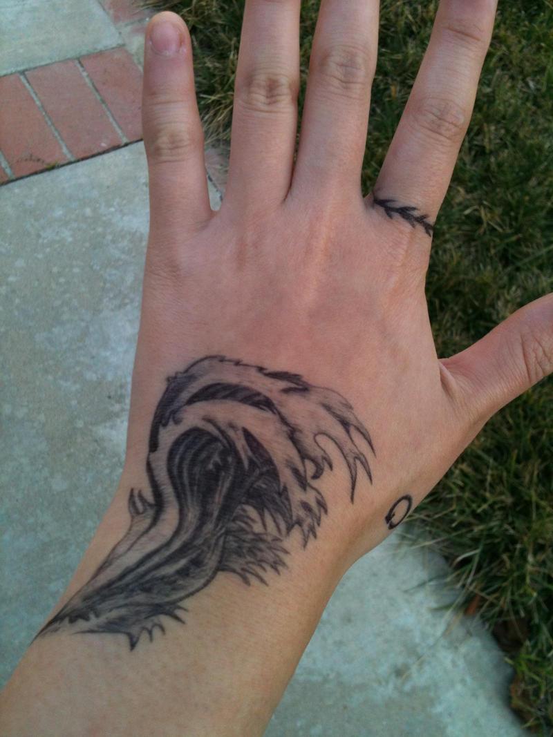 Ocean Wave Tattoos Oce...