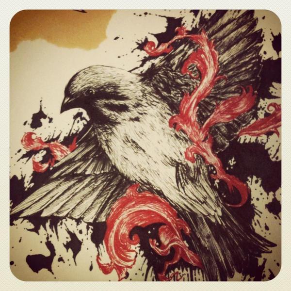 Blackbird Spatter by mmpninja
