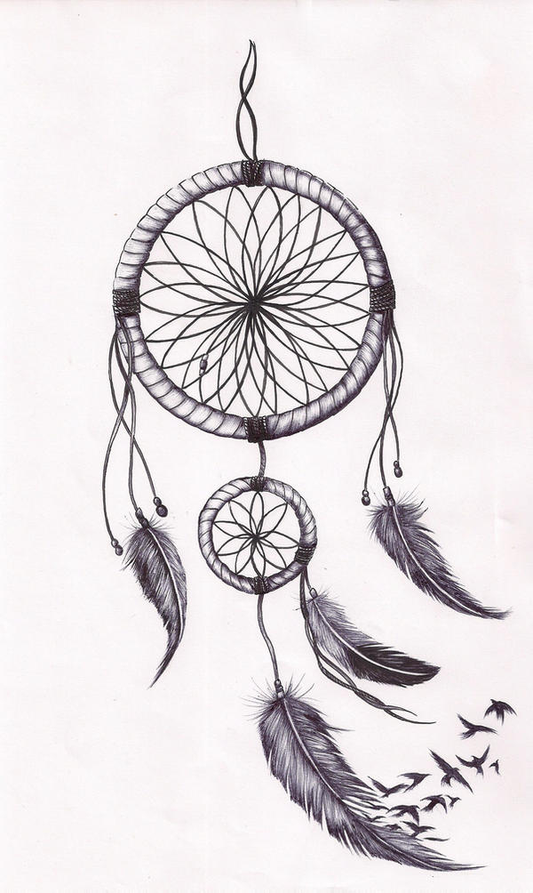 dream catcher tattoo template dreamcatcher tat by mmpninja on deviantart