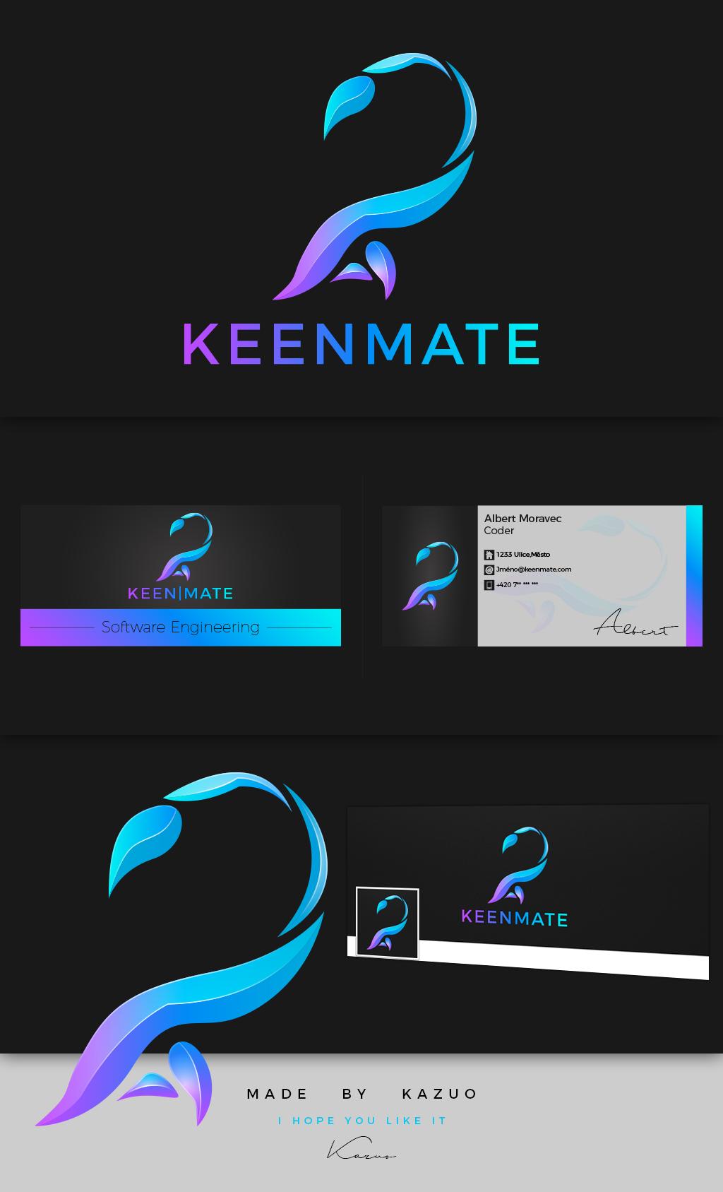 keenmate logo by kazuocz on deviantart