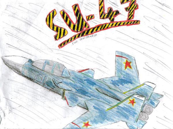 SU 47 The Iron Dragon by Blarghmeister