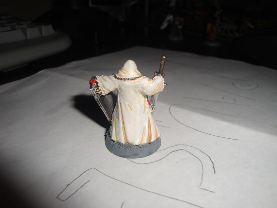 Hooded Crusader Rear by Blarghmeister