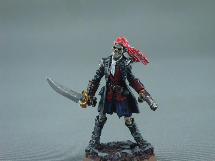 Skeleton Pirate Gibbs by Blarghmeister