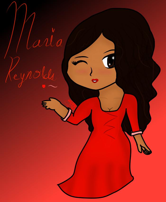 HTM: Li'l Miss Maria Reynolds by NerdzLikeTheCandy