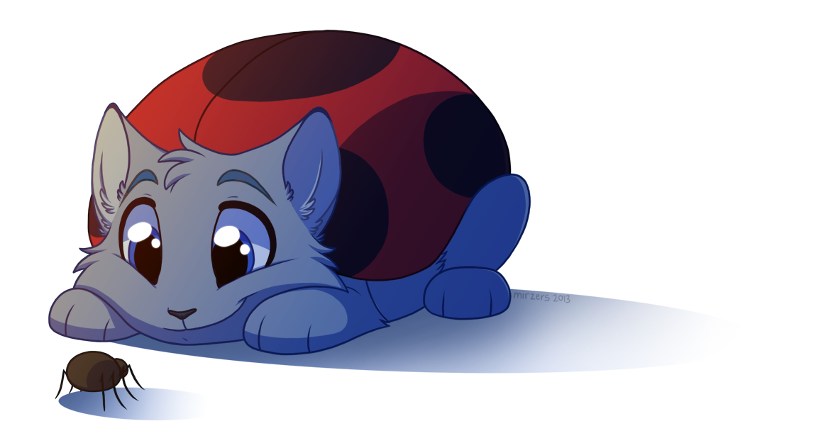 MY NAME IS CATBUG. WHAT'S YOURS? by mirzers
