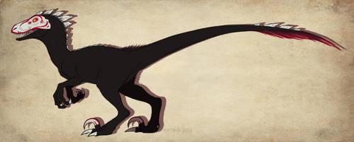 RWBY Grimm: RWBY Raptor by mirzers