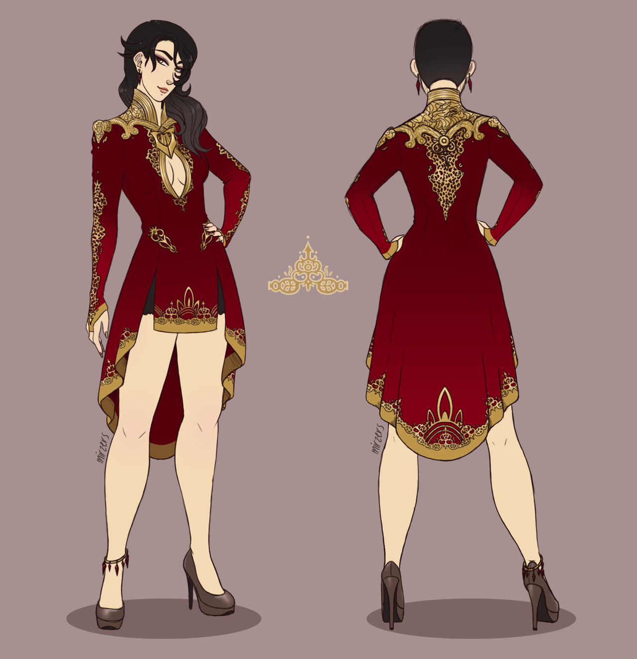 Rwby Cinder on emerald rwby vol 4