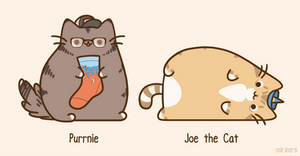 Purrnie Purns and Joe the Cat