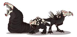 RWBY Grimm: RWBY Raptor by mirzers on DeviantArt