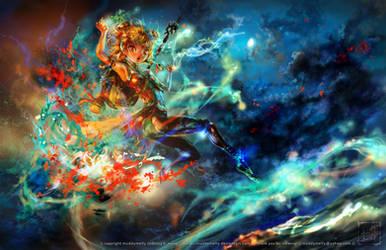 Eve of Sarani by muddymelly