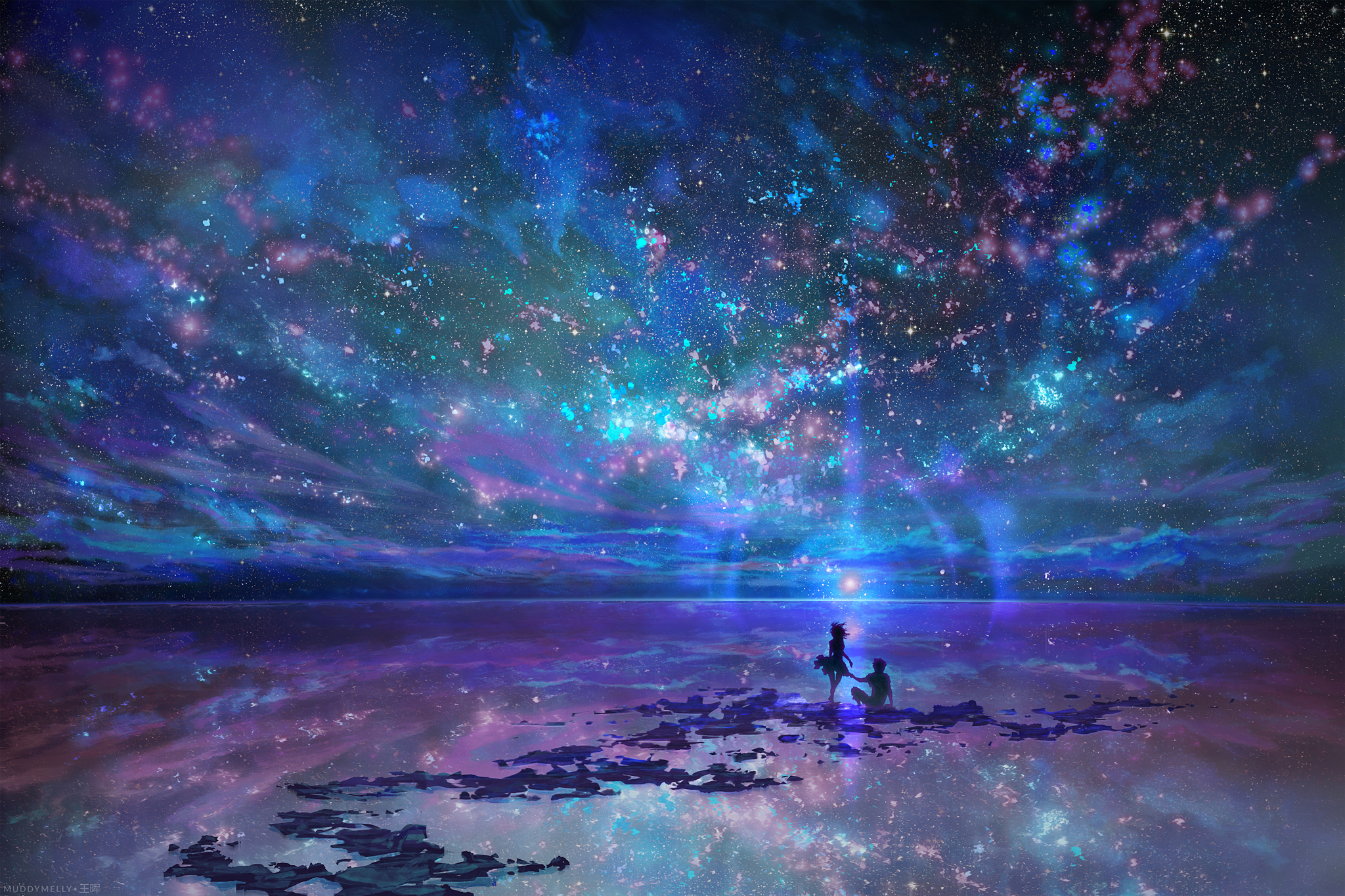 Ocean, Stars, Sky, and You