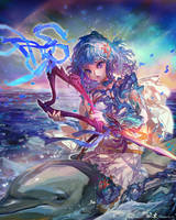 Arion 3/4 (C) CyberAgent - 'Tenku no Crystalia' by muddymelly