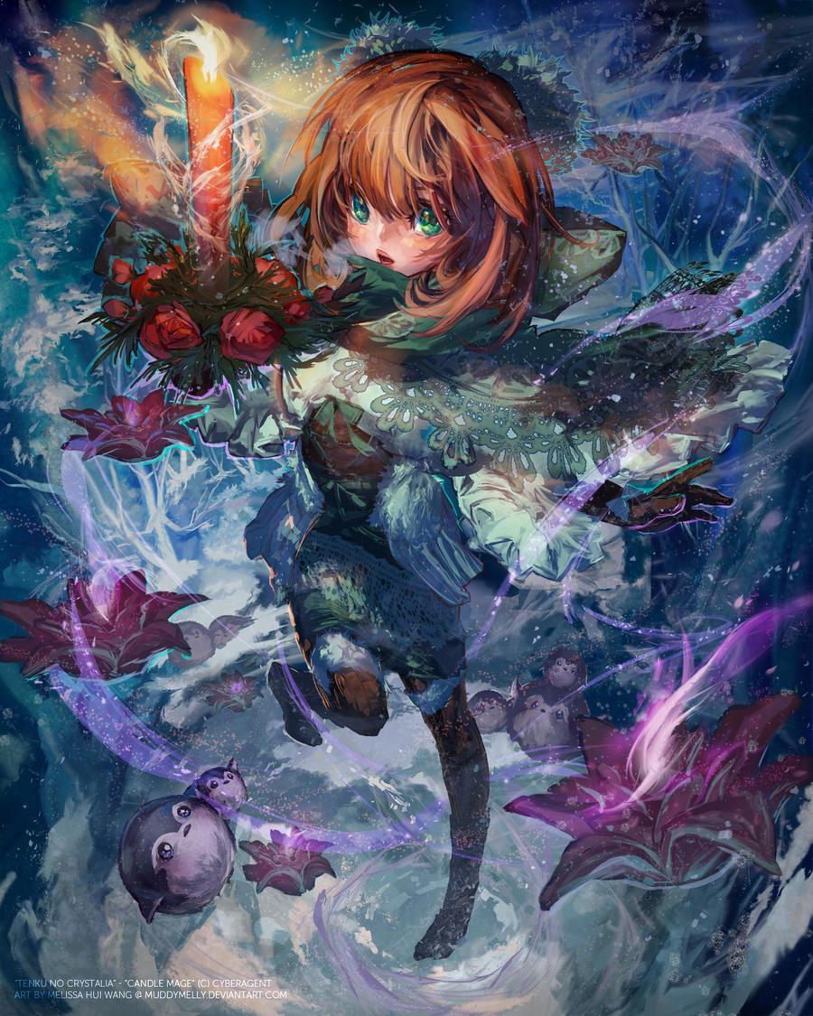 Candle Mage 1/4 (C) CyberAgent: Tenku no Crystalia