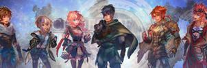 Echoes of Eternea - Character 'Dialogue Torsos'
