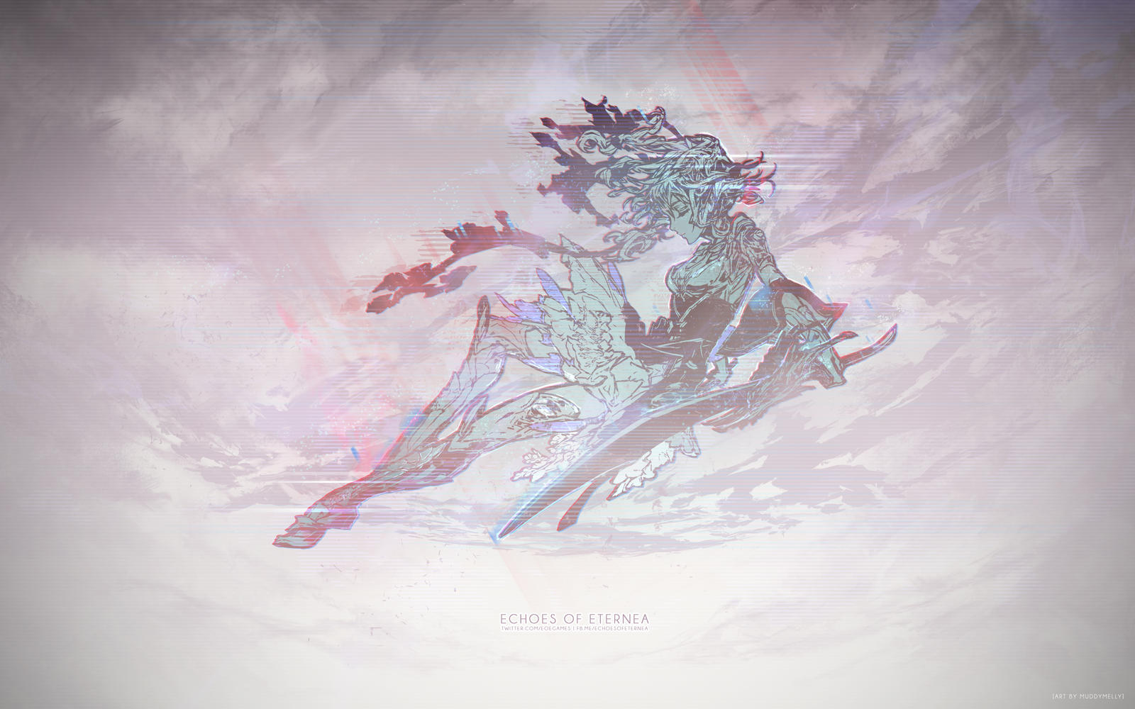 Echoes of Eternea: Namie Logo, Glitched