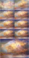 [Steps] - Sky-High (free .PSD files!)