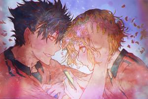 [Haikyuu] Kuroo Tetsurou + Kozume Kenma by muddymelly