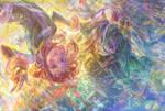[Cropped closeup] Tsuyu Asui + Ochaco Uraraka